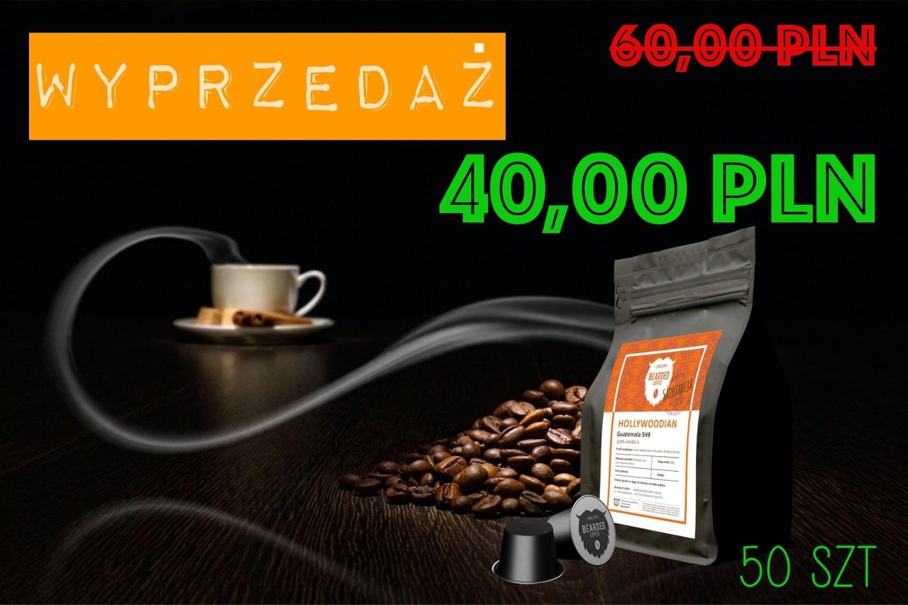 Promocja na kawę w kapsułkach