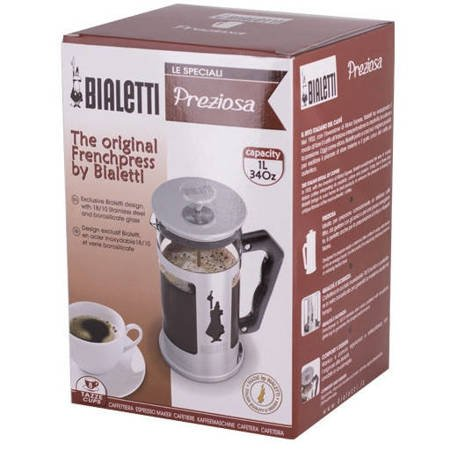 Bialetti French Press Preziosa / Omino 1000 ml