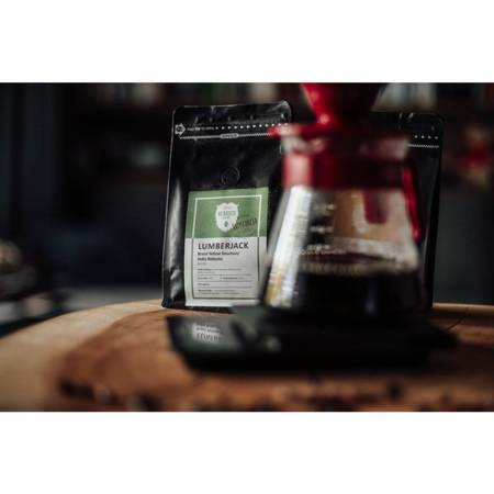 Kawa ziarnista - Yellow Bourbon Fazenda Rainha/Robusta India Cherry AA Lumberjack